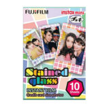 Fujifilm Instax Mini Colorfilm Stained Glass (1-Pak) - thumbnail 1