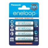 Panasonic Eneloop Mignon AA-Batterijen 1900mAh - 4 stuks