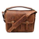 ONA The Prince Street Leather Antique Cognac Messenger Bag - thumbnail 2