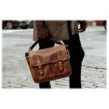 ONA The Prince Street Leather Antique Cognac Messenger Bag - thumbnail 8
