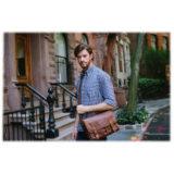 ONA The Prince Street Leather Antique Cognac Messenger Bag - thumbnail 9