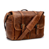 ONA The Brixton Leather Cognac Messenger Bag - thumbnail 2