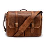 ONA The Brixton Leather Cognac Messenger Bag - thumbnail 1