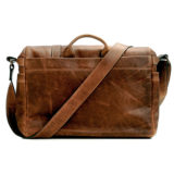 ONA The Brixton Leather Cognac Messenger Bag - thumbnail 3