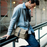 ONA The Bowery Field Tan Messenger Bag - thumbnail 7