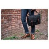 ONA The Prince Street Black Messenger Bag - thumbnail 8