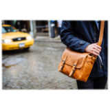 ONA The Berlin II Vintage Bourbon Messenger Bag - thumbnail 9