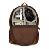 ONA The Clifton Leather Antique Cognac Backpack - thumbnail 4