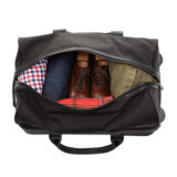 ONA The Hamilton Black Nylon Rolling Bag - thumbnail 8