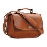 ONA The Palma Cognac Shoulder Bag - thumbnail 1