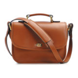 ONA The Palma Cognac Shoulder Bag - thumbnail 3