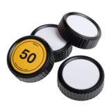 Caruba Writable Rear Lens cap Kit Nikon - 4 stuks - thumbnail 1