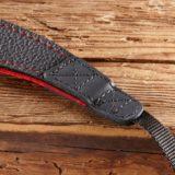 Eddycam Fashion -2- 42mm schouderriem Black / Red - thumbnail 2