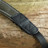Eddycam Fashion -2- 42mm schouderriem Dark Green / White - thumbnail 2