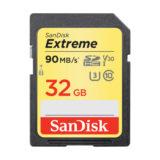 SanDisk 32GB SDXC Extreme UHS-I U3 90MB/s V30 geheugenkaart