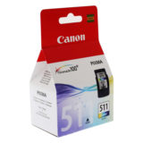 Canon Inktpatroon CL-511 Color - thumbnail 1