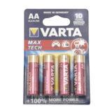 Varta Max Tech AA-batterijen 1500 PX - 4 stuks - thumbnail 1