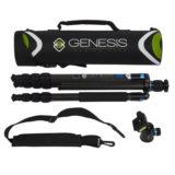 Genesis Base C3 Carbon statief + BH-34 Kit Blauw - thumbnail 9