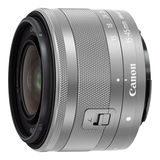 Canon EF-M 15-45mm f/3.5-6.3 IS STM objectief Zilver - Bulk - thumbnail 1
