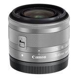 Canon EF-M 15-45mm f/3.5-6.3 IS STM objectief Zilver - Bulk - thumbnail 2
