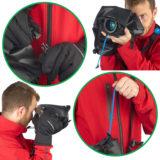 Miggo Agua Stormproof Raincover 15 Pro DSLR Zwart - thumbnail 9