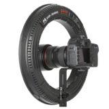 Falcon Eyes LED Ring Lamp Dimbaar DVR-384DVC op 230V - thumbnail 4