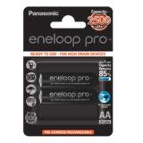Panasonic Eneloop Pro Mignon AA-batterijen 2500mAh - 2 stuks - thumbnail 2