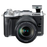 Canon EOS M6 systeemcamera Zilver + 18-150mm IS STM - thumbnail 8