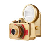 Lomography La Sardina Metal Edition camera met flitser - Beluga - thumbnail 1