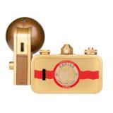 Lomography La Sardina Metal Edition camera met flitser - Beluga - thumbnail 2