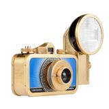 Lomography La Sardina Metal Edition camera met flitser - Czar - thumbnail 2