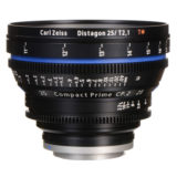 Carl Zeiss Compact Prime CP.2 Distagon T* 25mm T2.1 Meters objectief Canon EF-vatting - thumbnail 2