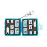 JJC MC-9B Sim Card Case Blauw - thumbnail 5