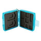 JJC MC-10B Memory Card Case Blauw - thumbnail 6