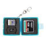 JJC MC-8B Memory Card Case Blauw - thumbnail 4