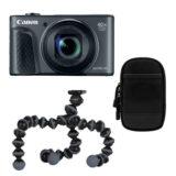 Canon PowerShot SX730 HS compact camera Zwart Travel Kit - thumbnail 1