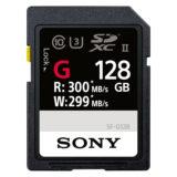 Sony 128GB SDXC G-Series UHS II 300MB/s geheugenkaart - thumbnail 1