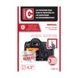 "Caruba LCD Optical Glass Protector 4.3"" - 2 stuks - thumbnail 1"