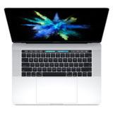 Apple MacBook Pro 15 inch Touch Bar Quadcore i7 2.8GHz 256GB Silver (MPTU2N/A) - thumbnail 1