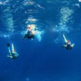 Caruba Pro Full Face Snorkelmasker S/M Zwart/Rood - thumbnail 5