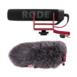 Rode VideoMic Go microfoon + Rycote Windjammer Special Kit