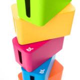 Bluelounge CableBox Mini Pink - thumbnail 4