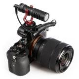 Boya BY-MM1 Universele Compacte Shotgun Richtmicrofoon - thumbnail 4