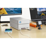 LaCie 2big Dock Thunderbolt 3 8TB netwerk harde schijf - thumbnail 9