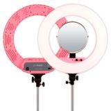 Caruba Round Vlogger LED set 18 inch Roze - thumbnail 2
