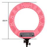 Caruba Round Vlogger LED set 18 inch Roze - thumbnail 5