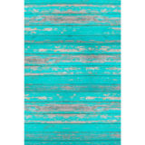 Savage Floor Drop Distressed Teal Wood - 2.40 x 2.40 meter - thumbnail 1
