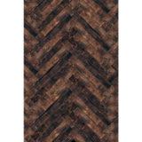 Savage Floor Drop Herringbone Wood - 2.40 x 2.40 meter - thumbnail 1