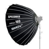 SMDV Speedbox Mega-160 softbox 160cm Zilver Bowens Mount - thumbnail 1