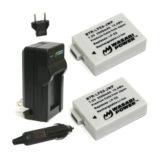 Wasabi Power Canon LP-E8 Accu en Lader Kit - thumbnail 1